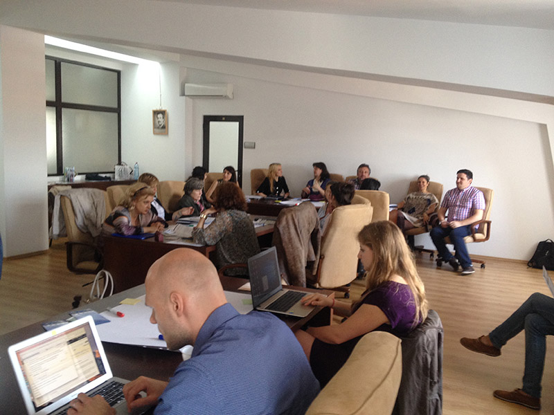 """Workshop in """"Lucian Blaga"""" University of Sibiu, Romania: Social Innovation Workshop for Human Trafficking, Migration and Refugee Crisis"""